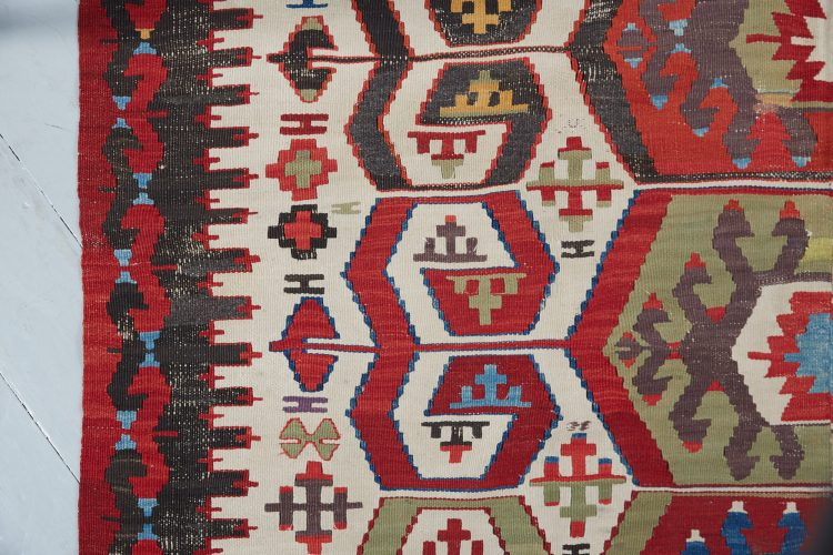 HL4674 – Antique Anatolian Kilim Rug-0010