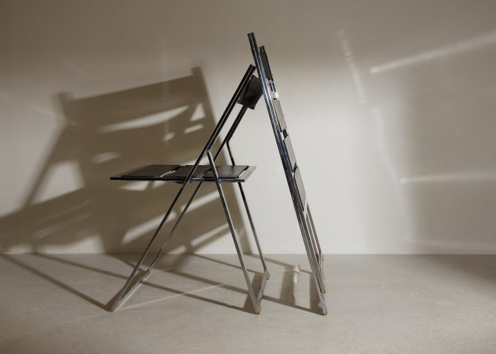 INC0740 – Folding Chrome and Leather Chairs-0015