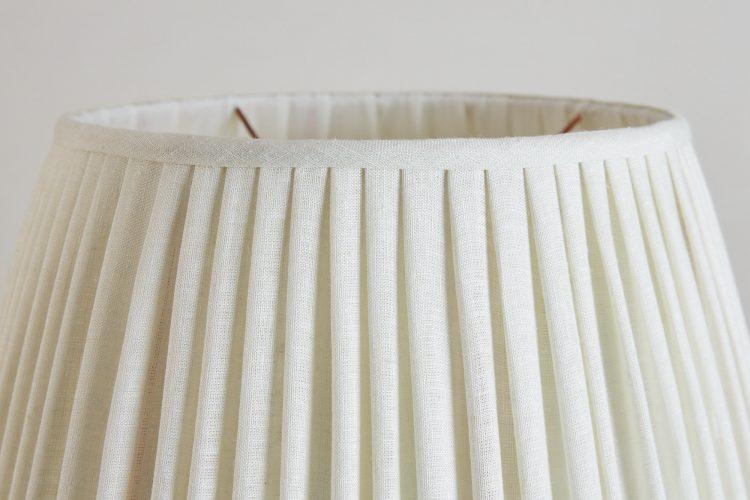 HH800015W – White Plain Linen Lampshade-0003