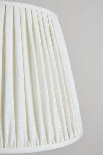 HH800015W – White Plain Linen Lampshade-0005