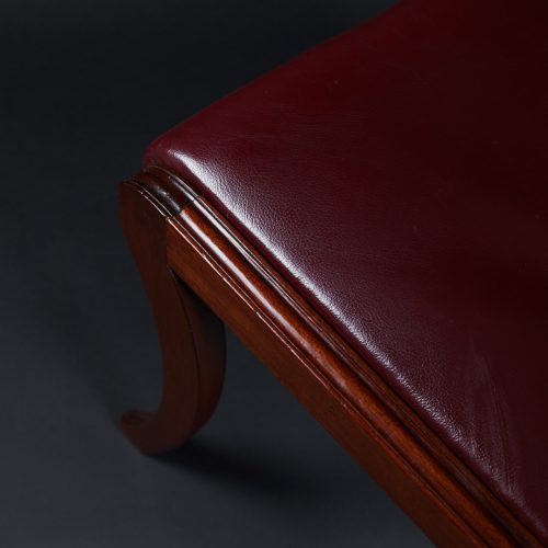 HL3557 – Leather Sabre Legged Chairs-0026