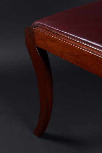 HL3557 – Leather Sabre Legged Chairs-0027