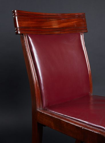 HL3557 – Leather Sabre Legged Chairs-0031