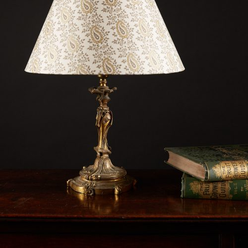 HL4153 – Rocaille Brass Table Lamp-0006