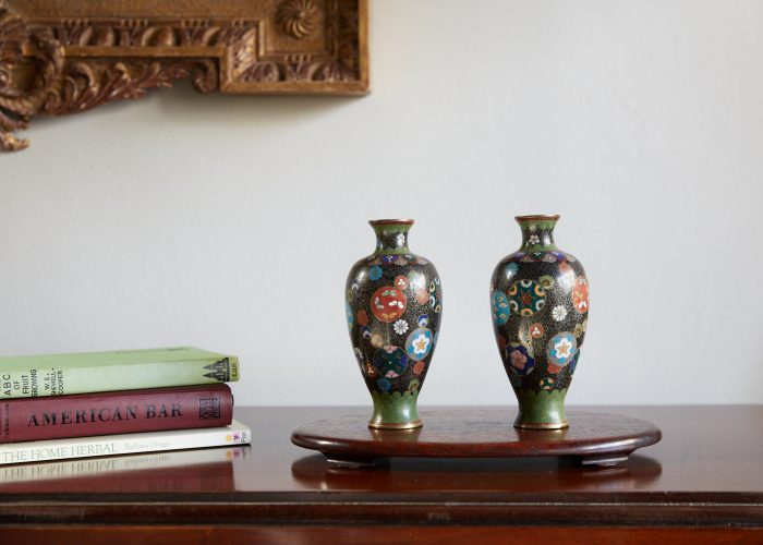 HL4678 – Pair of Cloisonne Vases-0008