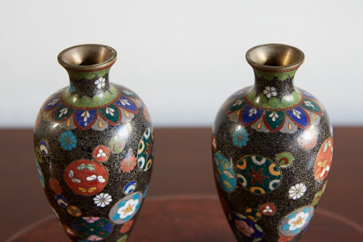 HL4678 – Pair of Cloisonne Vases-0010