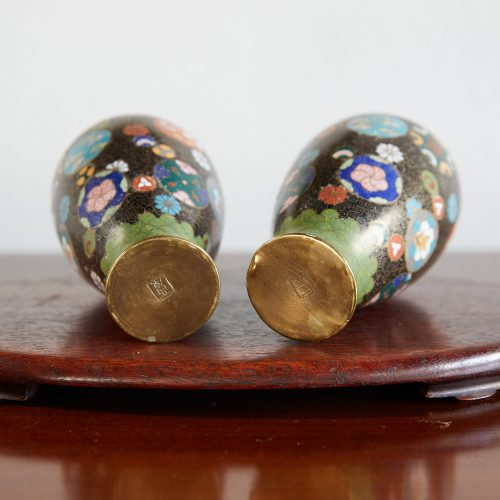 HL4678 – Pair of Cloisonne Vases-0018