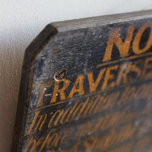 HL4679 – Antique Railway Sign-0009