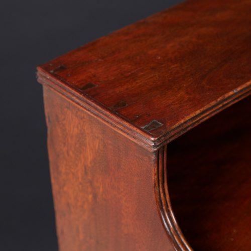 HL4697 – Mahogany Waterfall Bookcases-0014