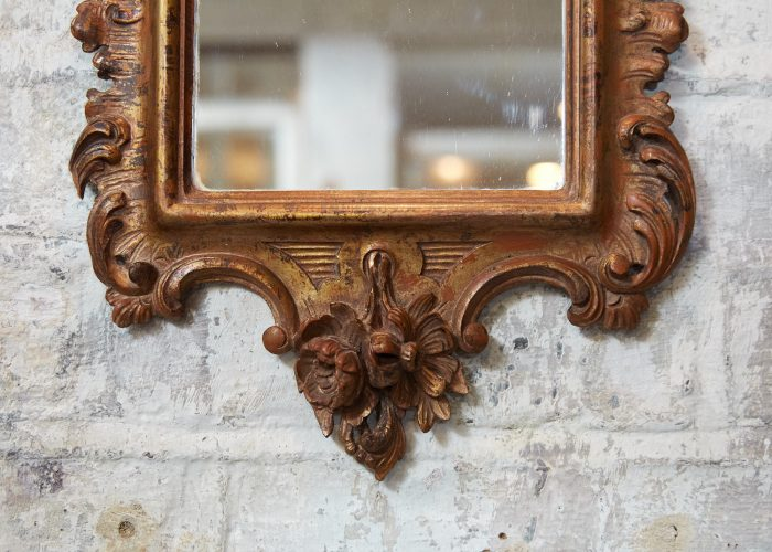 HL4785 – C19th Rococo Wall Mirror-0007