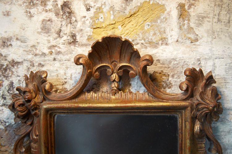 HL4785 – C19th Rococo Wall Mirror-0009