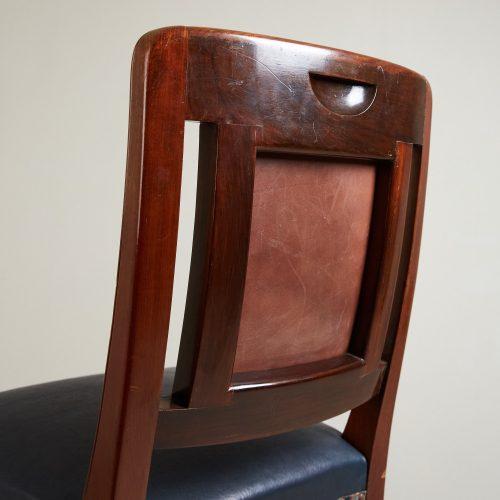 HL1796 – High Backed Leather Bar Stool-0018