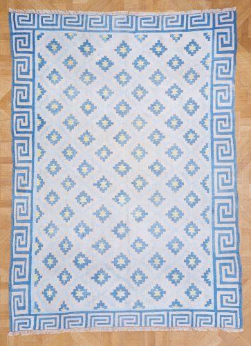 HL4575 – Blue Cotton Dhurrie-0001