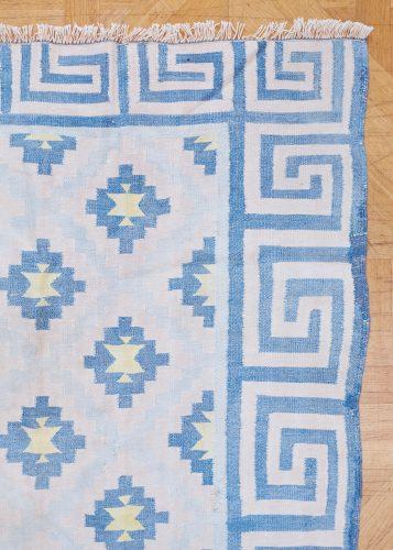 HL4575 – Blue Cotton Dhurrie-0003