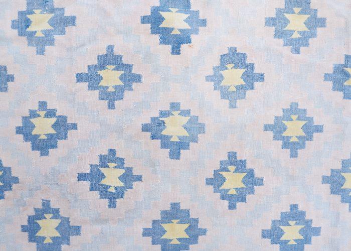 HL4575 – Blue Cotton Dhurrie-0004