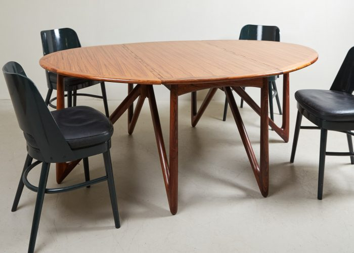 HL4744 – Danish Drop Leaf Table by Kurt Ostervig-0002