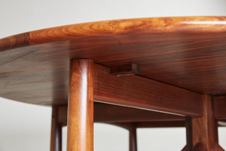HL4744 – Danish Drop Leaf Table by Kurt Ostervig-0020