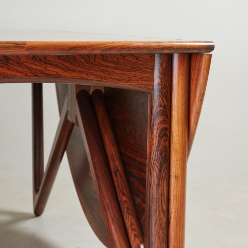 HL4744 – Danish Drop Leaf Table by Kurt Ostervig-0033