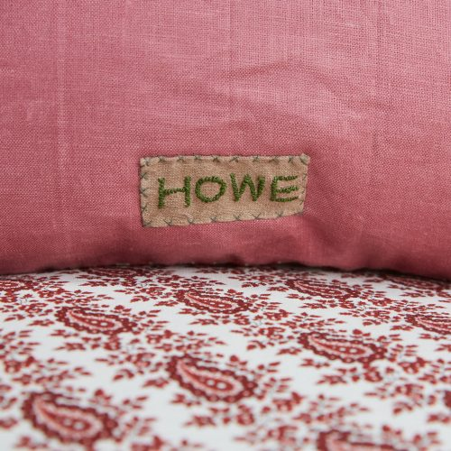 HB900373 – Red Stripe and Pink Linen Cushion-0007