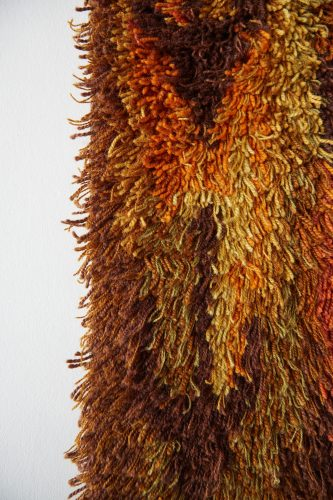 HL4952- Swedish Wool Rya Weaving Rug-0003