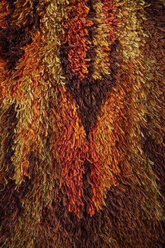 HL4952- Swedish Wool Rya Weaving Rug-0005