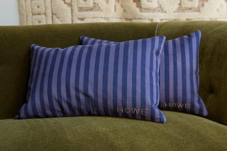 HB900385 – A Pair of Ticking Cushion-0002 1