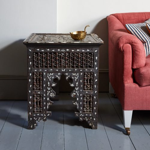 HL4755 – Moorish Inlaid Table-0001
