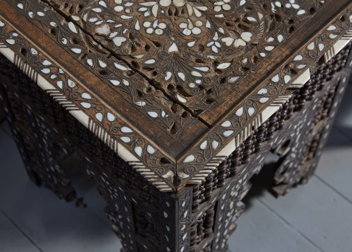 HL4755 – Moorish Inlaid Table-0007