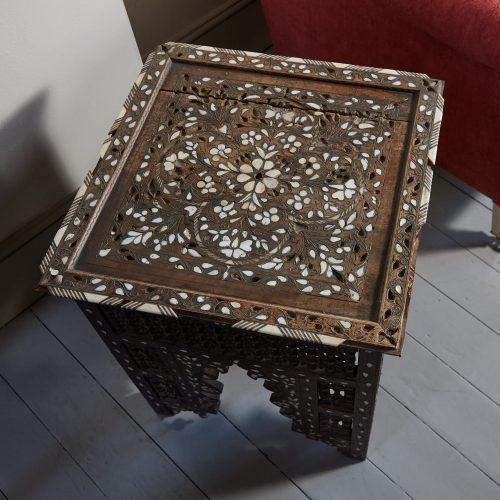 HL4755 – Moorish Inlaid Table-0016