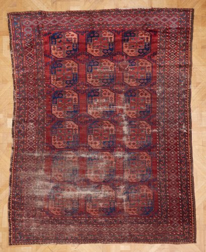 12 Red Blue Carpet L2740 W2170-0001