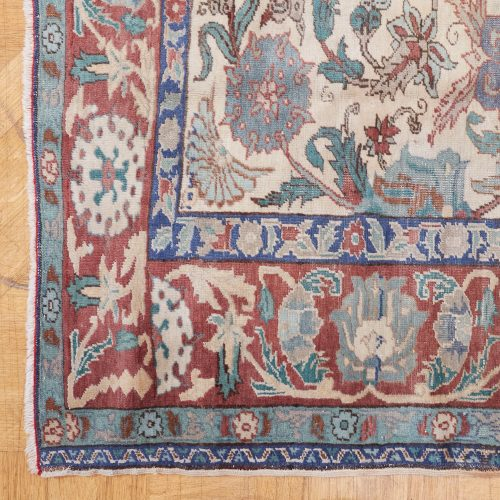 25 Small Rug Red Blue Beige-0002