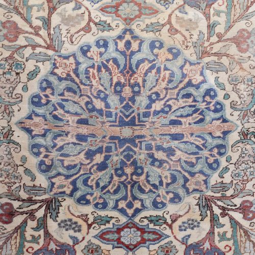 25 Small Rug Red Blue Beige-0003