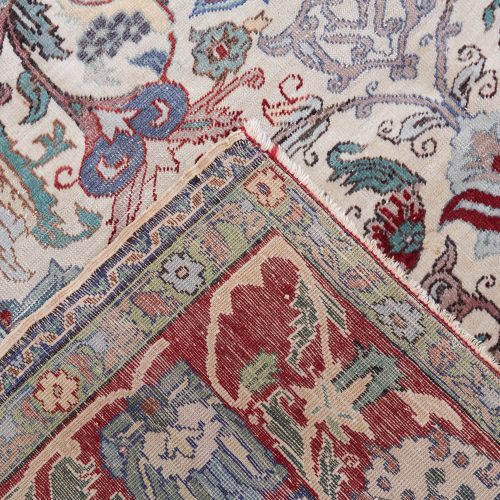 25 Small Rug Red Blue Beige-0004