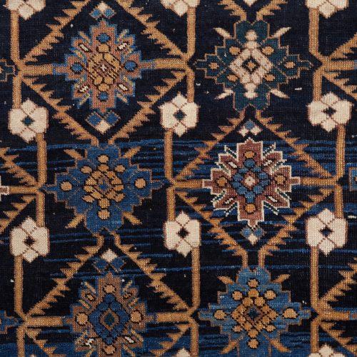 9 Small Blue Black Carpet – L1600 W1270-0004