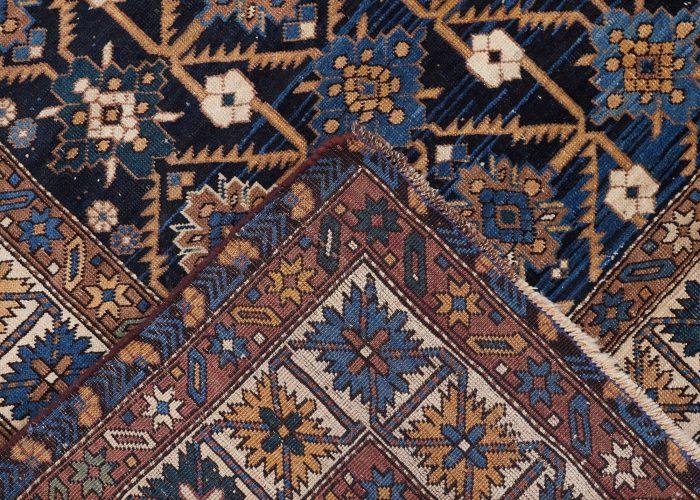 9 Small Blue Black Carpet – L1600 W1270-0005