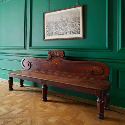HL4946 – George IV Oak Hall Bench-0001