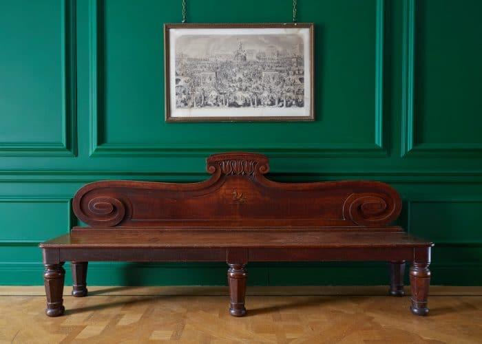 HL4946 – George IV Oak Hall Bench-0002