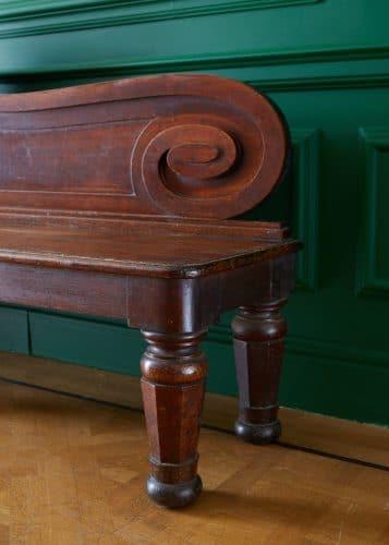 HL4946 – George IV Oak Hall Bench-0004