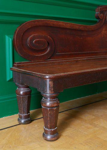 HL4946 – George IV Oak Hall Bench-0008