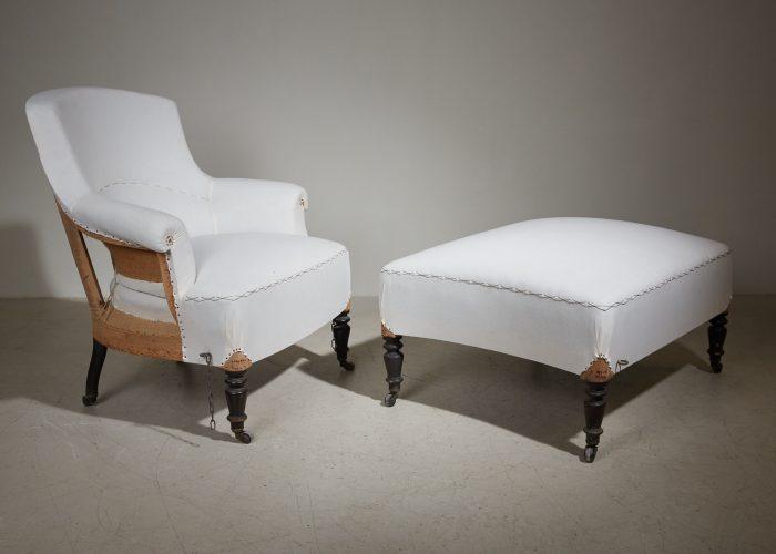 HL5000 – Armchair and Ottoman-0019