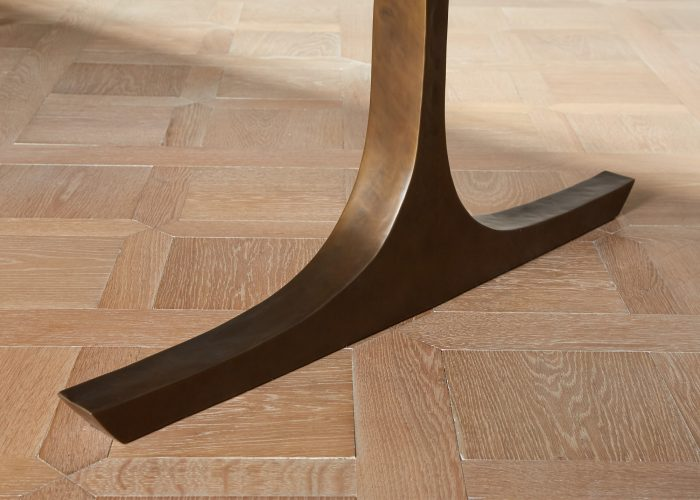 Long Black Lacquered Dining Table-0024