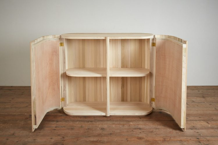 Plain Wood Tambour-0012
