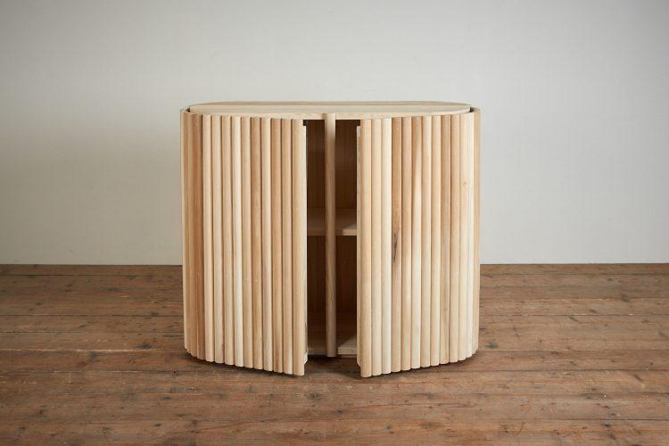 Plain Wood Tambour-0014