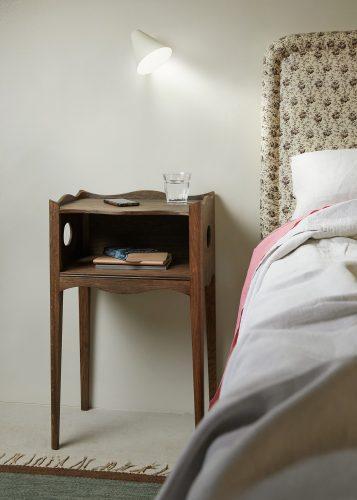 Fumed Oak Bedside Table-sml