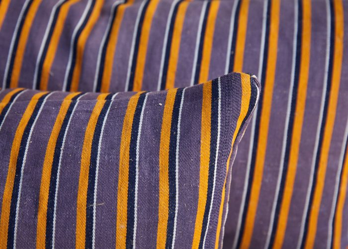 HB900400 – Purple Stripe Ticking Cushion-0006