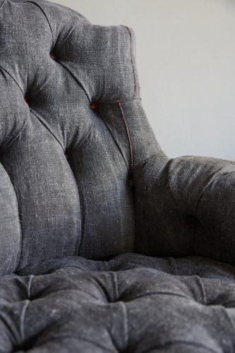 Hl4998 – Rose Wood Leg Armchair-0023