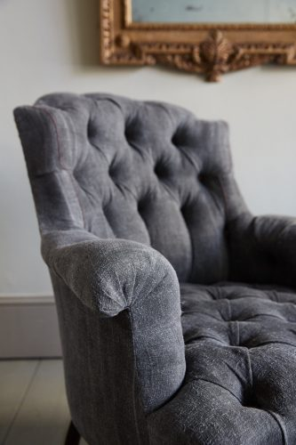 Hl4998 – Rose Wood Leg Armchair-0024