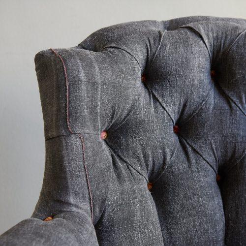Hl4998 – Rose Wood Leg Armchair-0026