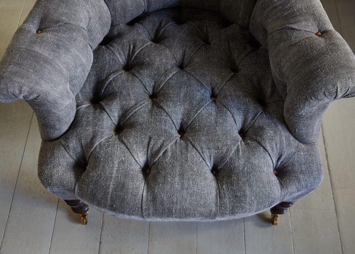 Hl4998 – Rose Wood Leg Armchair-0027
