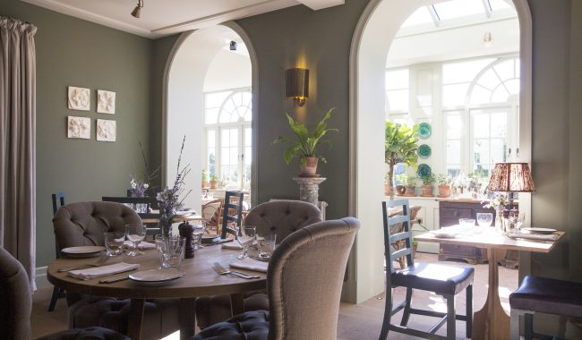 The Garden House at Beaverbrook designed by Nicola Harding